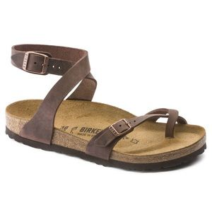Yara Oiled Leather Birkenstock